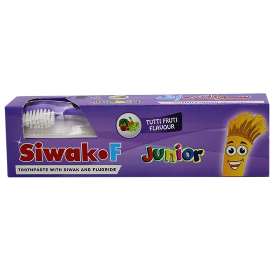 Siwak. F Kids Toothpaste Strawberry Flavor, With Brush 50 gm
