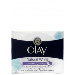 Olay Natural White All-In-One Fairness Night Cream 50 g