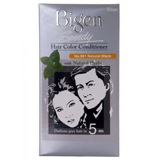 بيجن صبغة شعر اسود طبيعي ، 881 , 80 غم