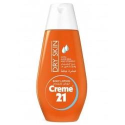 Creme 21 Dry Lotion for Moisturizing - 250 ml
