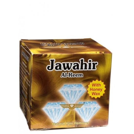 جواهر الريم حلاوة مزيلة للشعر  بشمع النحل 500 جم