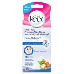 Veet Face Wax Strips Sensitive Skin 20-Piece