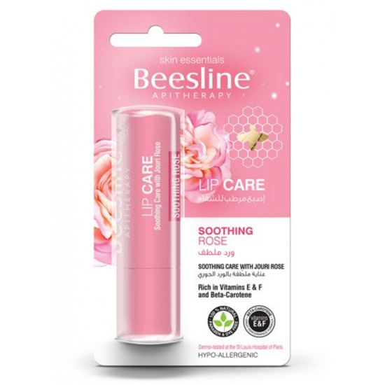 Beesline LIP CARE SOOTHING JOURI ROSE