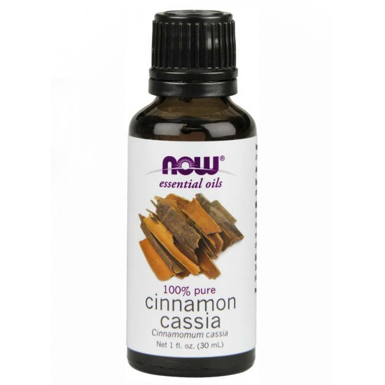 Now Foods- Essential Oils Cinnamon Cassia  30 Ml
