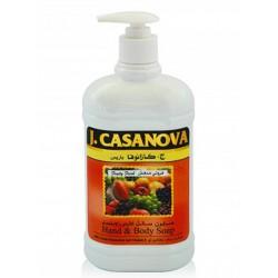 كازانوفا صابون سائل لليدين فريش فروتي  500 مل