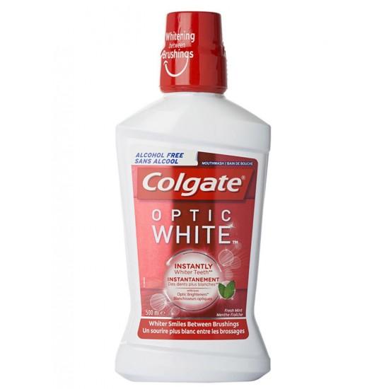 Colgate Optic White Whitening Mouthwash White 500 ml
