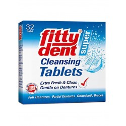 Fittydent 32 Tablets Denture Cleansing