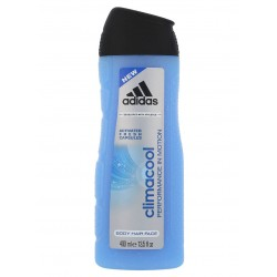 ADIDAS CLIMACOOL 3IN1 BODY, HAIR AND FACE SHOWER GEL 400ml