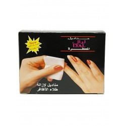 LYAL TOWERLETTES ANIL POLISH REMOVER 12 TOELETTE