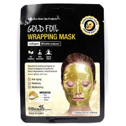 MBEAUTY Gold Foil Wrapping Mask 1 Pcs