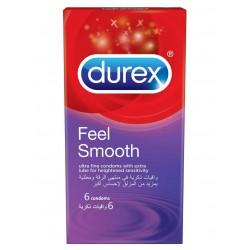 ديوركس Feel Smooth واق ذكري 6 حبة