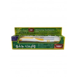 White Glo Whitening Toothpaste with Natural Herbs, 100 ml