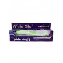 White Glo 2 in 1 Whitening Toothpaste With Mouthwash 100 ml