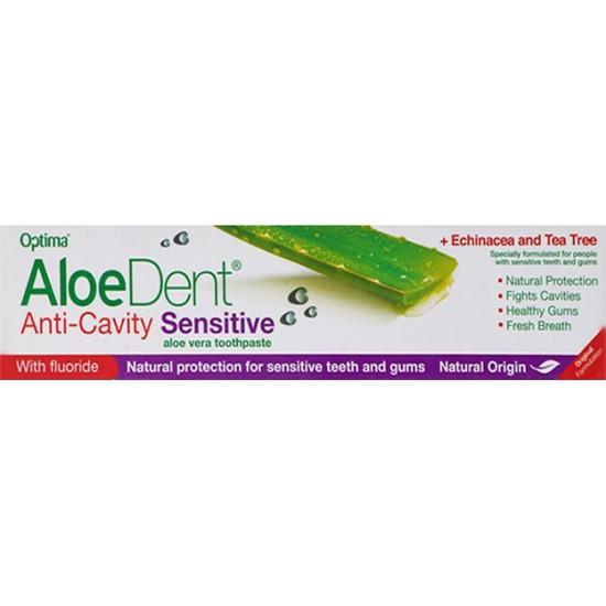 Aloe dent Toothpaste Anti- Cavity Sensitive Aloe Vera, 100 Gm