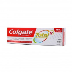 Colgate Tooth Paste Total Clean Mint 50 Ml