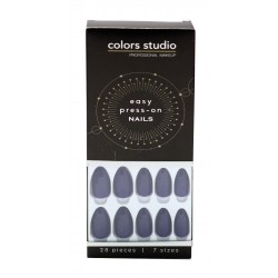 Colors Studio Easy Press On Nails 28 Pcs 7 Sizes NO. CS-NT13