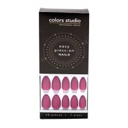Colors Studio Easy Press On Nails 28 Pcs 7 Sizes NO. CS-NT20