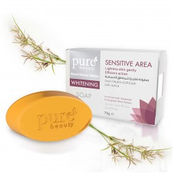 Pure Beauty Whitening Glycerin Soap for Sensitive Area - 70 g