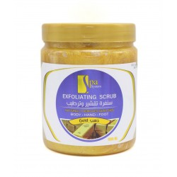 Spa System Body Hand Foot Scrub With Gold 1000 ml
