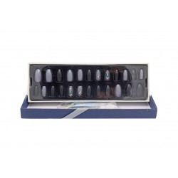 Sticky Nails attractive multi-size easy-to-install adhesive nails BK 19-113 piece 24