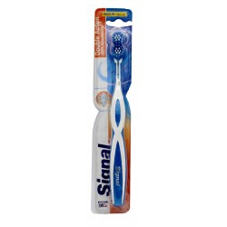 Signal Double Action Toothbrush Medium