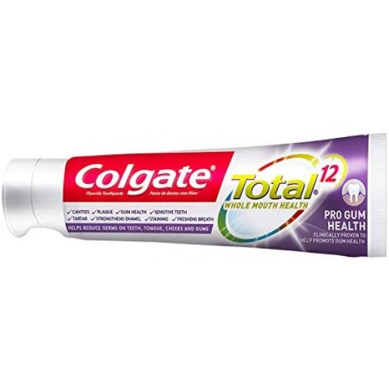 Colgate Toothpaste Total 12 Pro For Gum Health 75ml