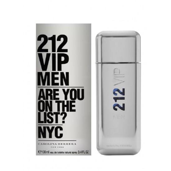 212 VIP by Carolina Herrera for Men - Eau de Toilette, 100ml