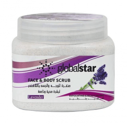 Global Star Lavender Face and Body Scrub 500 ml