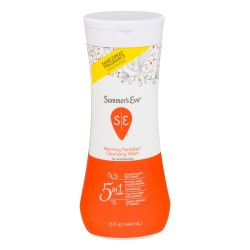Summer Eve, 5-in-1 Lotion Cleanser Cleaner, Morning Paradise, 15 fl oz 444 ml
