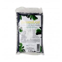 Banana leaf black wax granules 200g