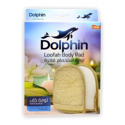 Dolphin bathing loofah Moroccan palm rough double