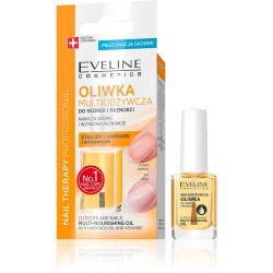 Eveline Nourishing Nail & Cuticle Oil with Avocado Oil - Nail Therapy 12ml
