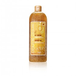 Fair & White Exfoliating Shower Gel Scrub Gold 940 ml