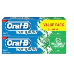 Oral B Complete Toothpaste 100 ml 1+1 Free