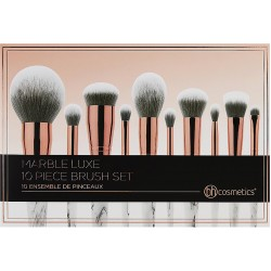 BH Cosmetics Marble Luxe Brush Set 10 Pieces