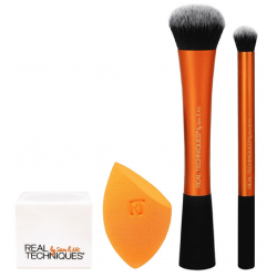 Real Techniques Gold Eye Brushes Set