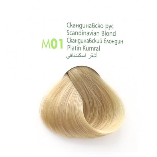 ام ام بيوتي صبغة شعر كومبليكس اشقر اسكندنافي M01