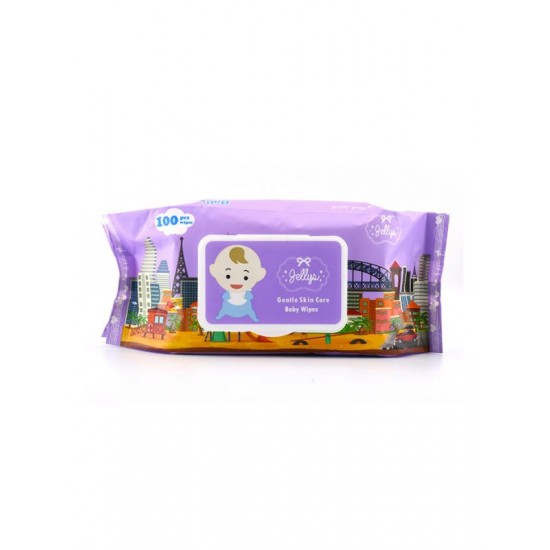 Glaze natural and scented wet wipes, 100pcs