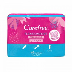 Carefree Flexicomfort Fresh Scent 40 Pantyliners