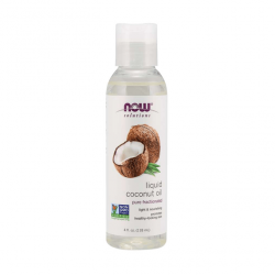 Now Solutions Liquid Coconut Oil - 118ml