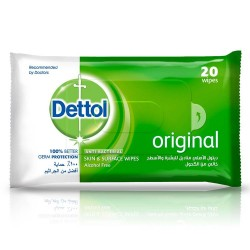Dettol Antiseptic Wet Wipes 20 pcs