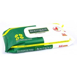 Boutique Anti Bacterial Multipurpose Wipes - 56 Wipes