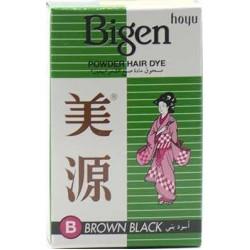 Bigen Hair Color Powder Hair Dye Brown Black