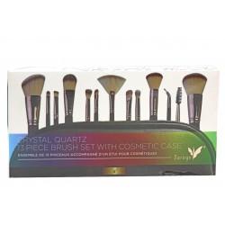 Daroge Crystal Quartz Brush Set 13 Pieces W176