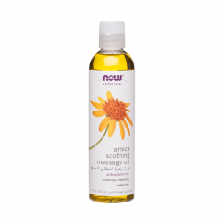 Now Solutions Arnica Soothing Massage Oil - 237ml