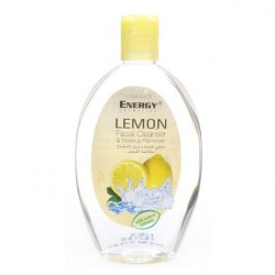 Energy Cosmetics Lemon Facial Cleanser and Makeup Remover 235 ml