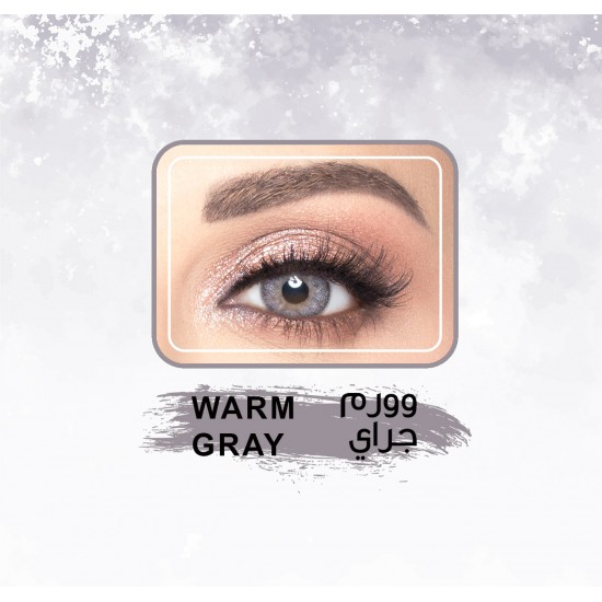 Amara Color Contact Lenses Warm Gray