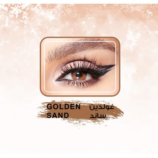 Amara Color Contact Lenses Golden Sand