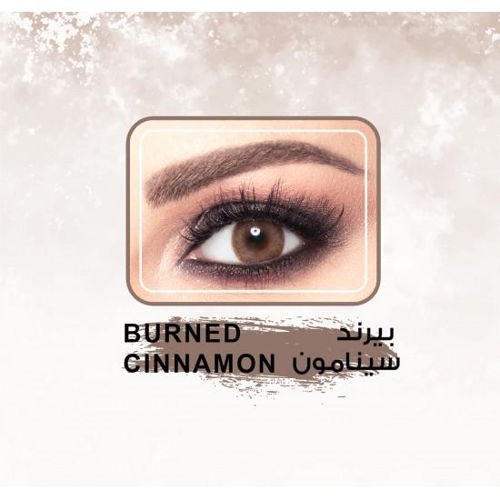 Amara Color Contact Lenses Burned Cinamon