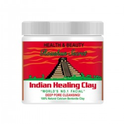 روشان سكريت قناع الطين الهندي - لتنظيف المسام بعمق 454 مل